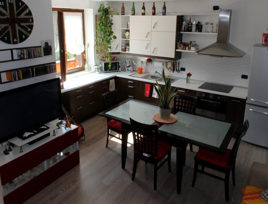 Cucina moderna in poco spazio gr design - Design cucina moderna ...