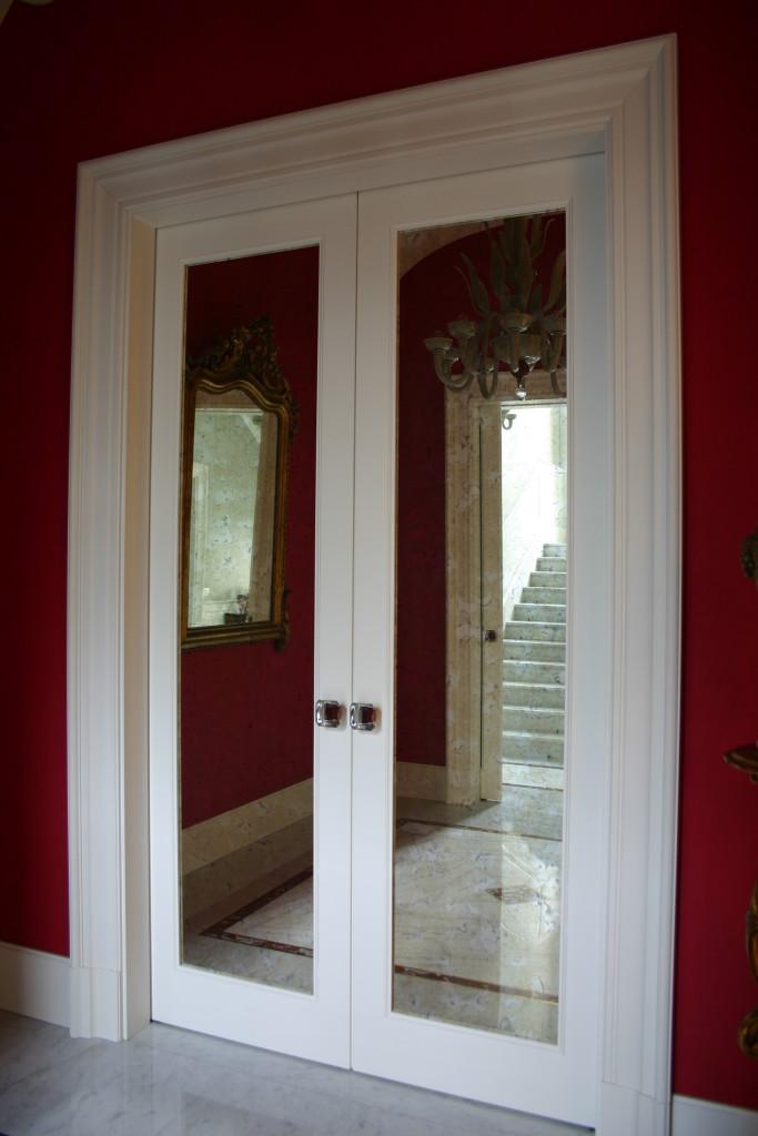 Gr design old classic porta scorrevole ante specchio con - Porta scorrevole specchio ...